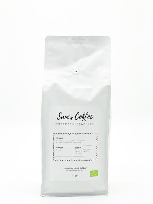 espresso classico sam's coffee