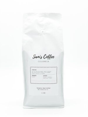 Sam's coffee colombia